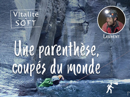Caving in the Pyrenees, when time stands still