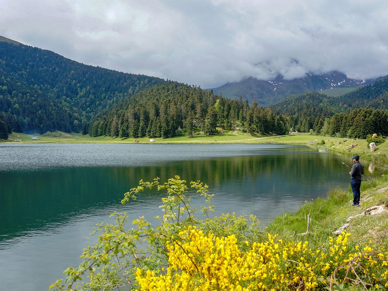 Pêche lac de Payolle