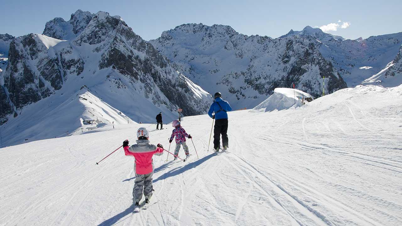 ski famille Grand Tourmalet - ©RICT