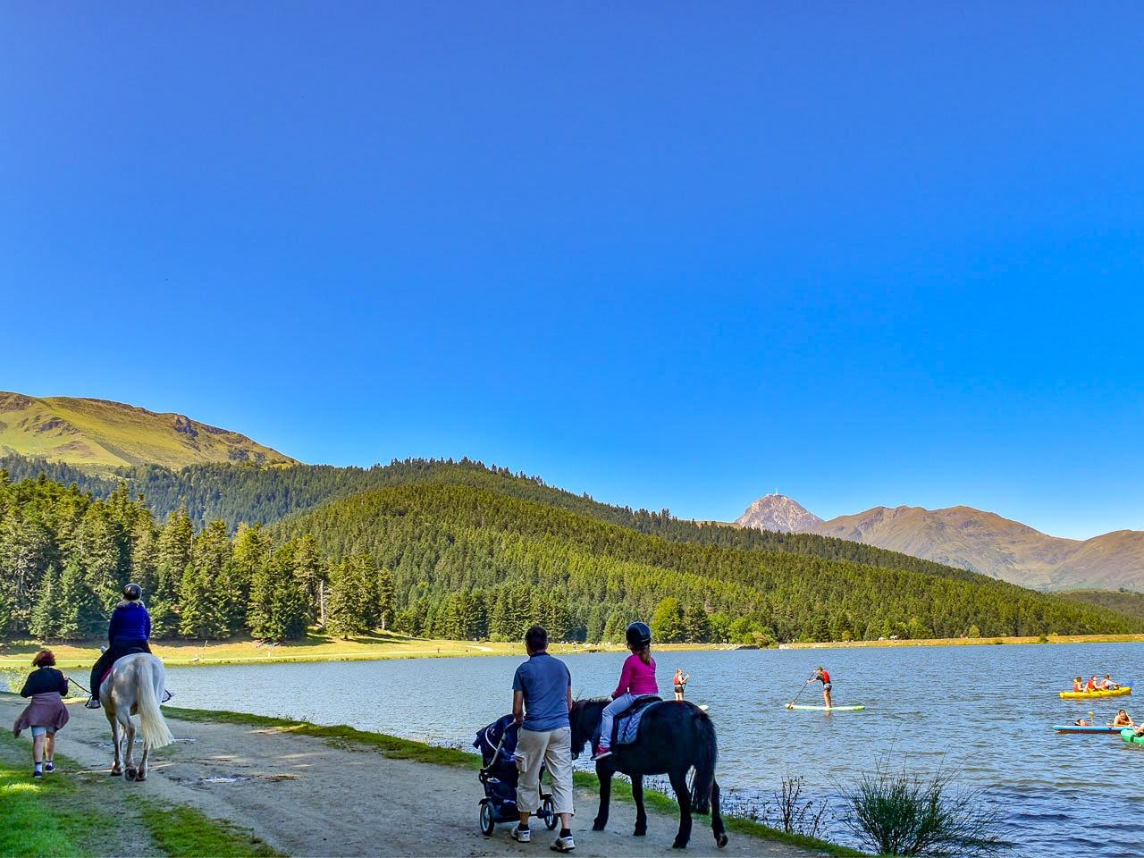 Balade autour du Lac de Payolle