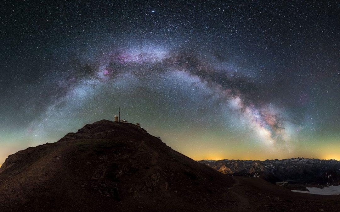 La réserve de ciel étoilé du Pic du Midi