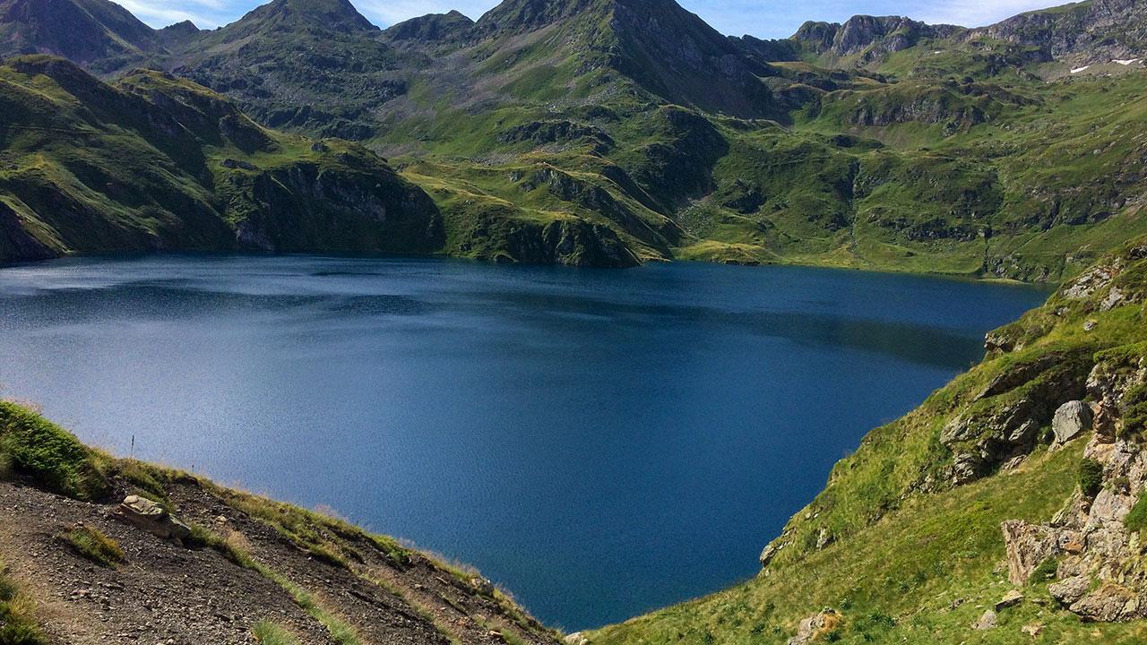 hautes pyrenees rando lac bleu