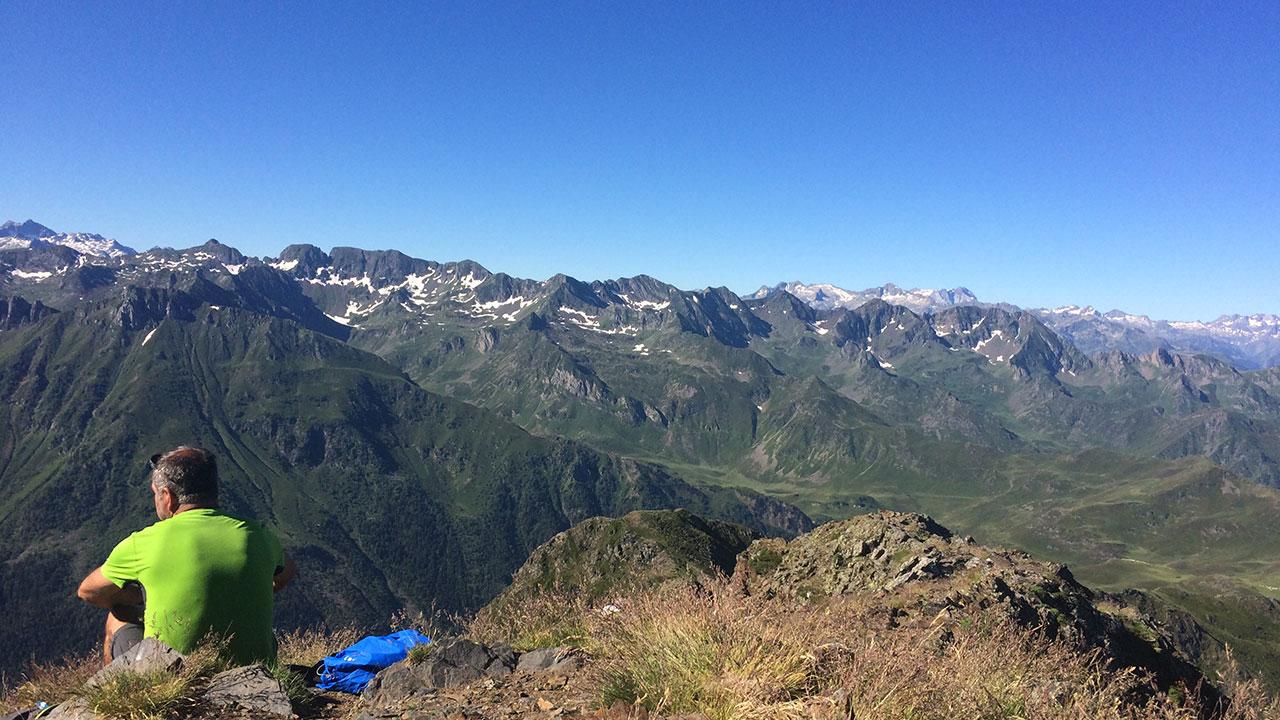 Pic du montaigu sommet