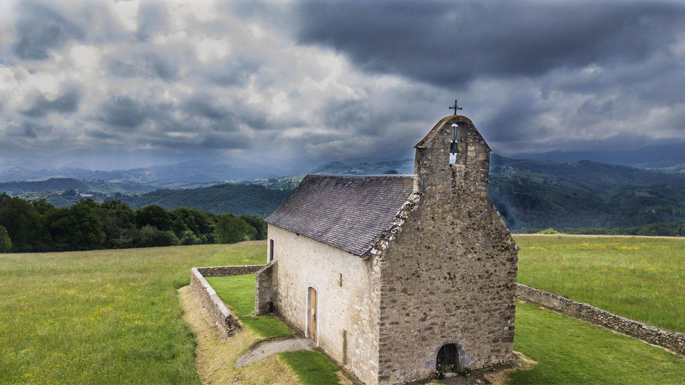 La chapelle de la Roumé