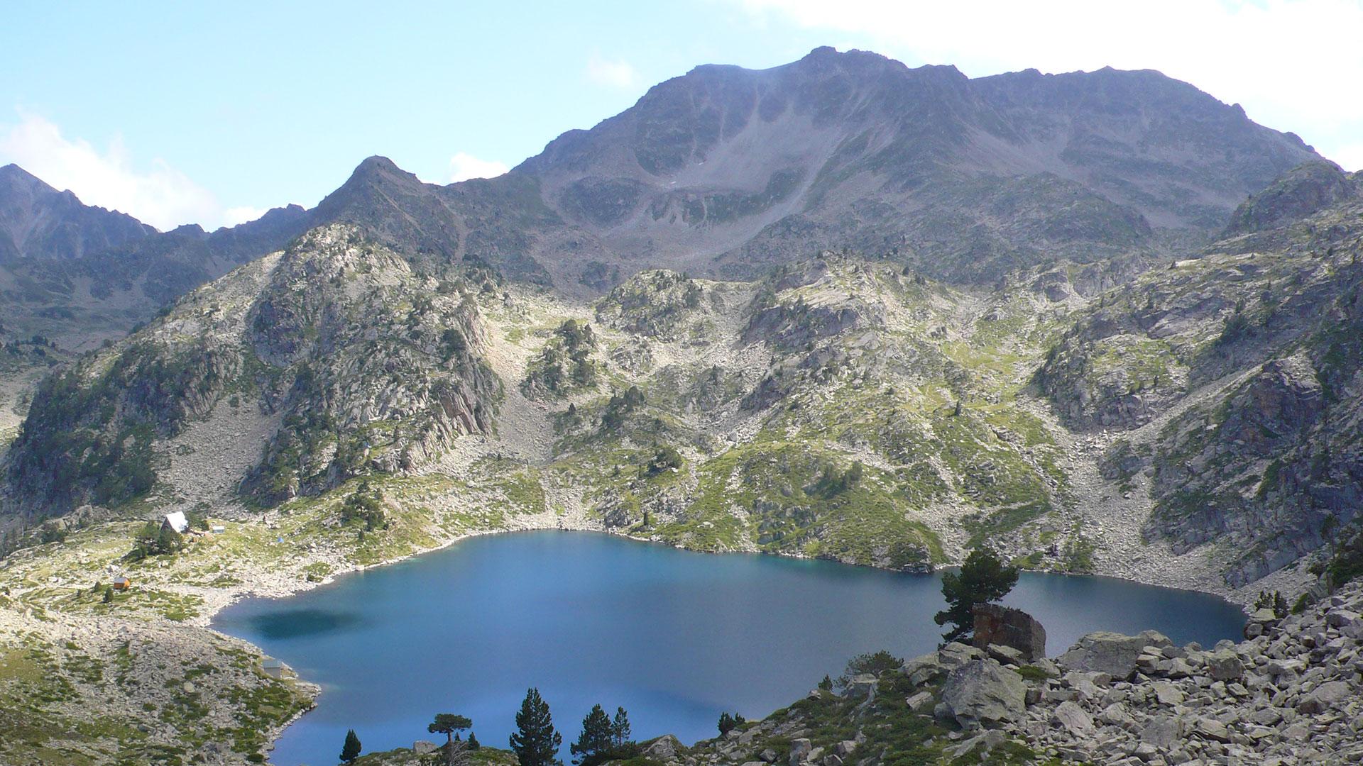 neouvielle lac de campana