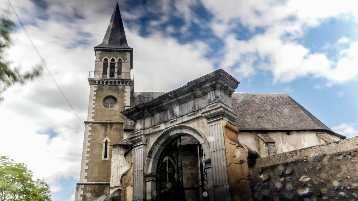 Eglise de Pouzac