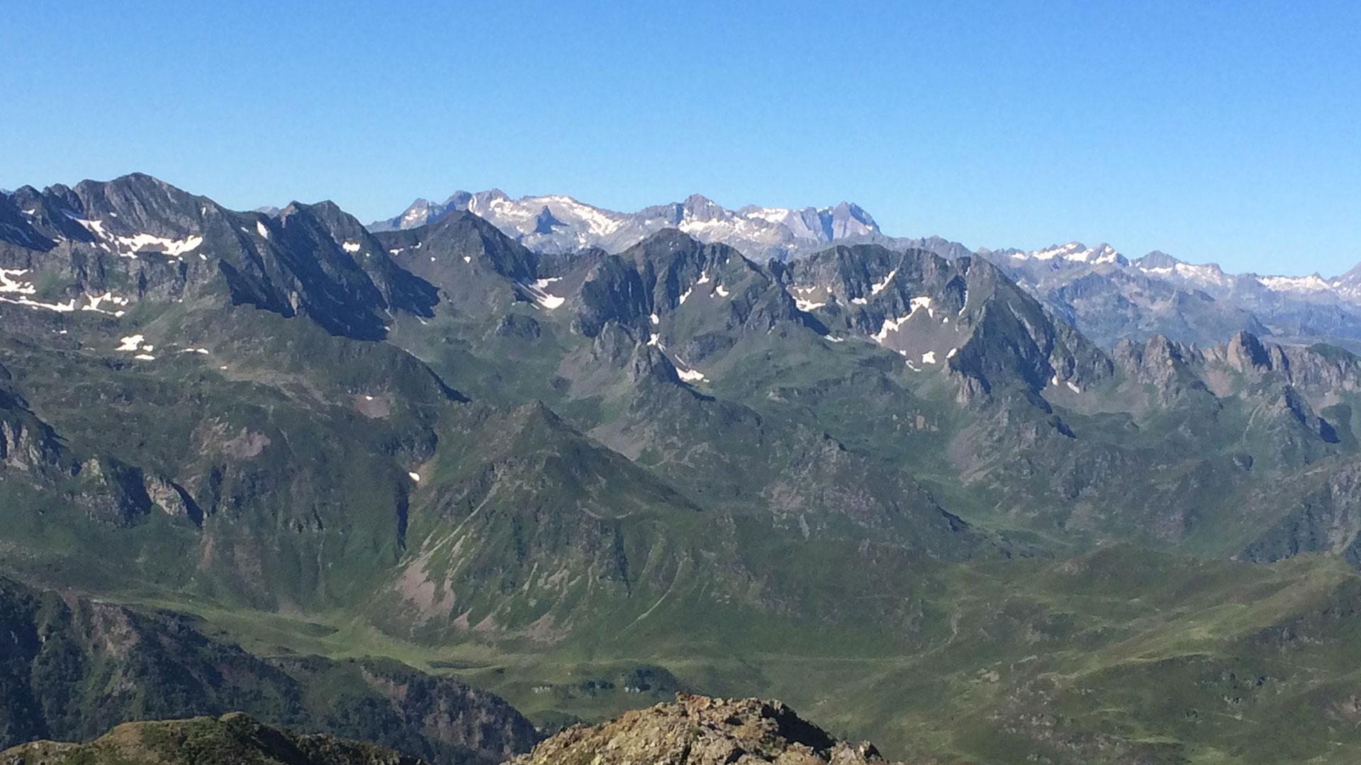 vue du Pic du Montaigu