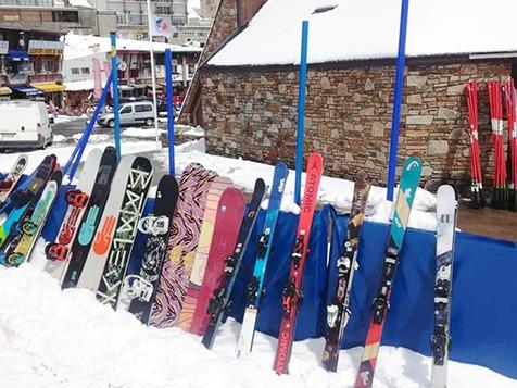 ski, snow La Mongie