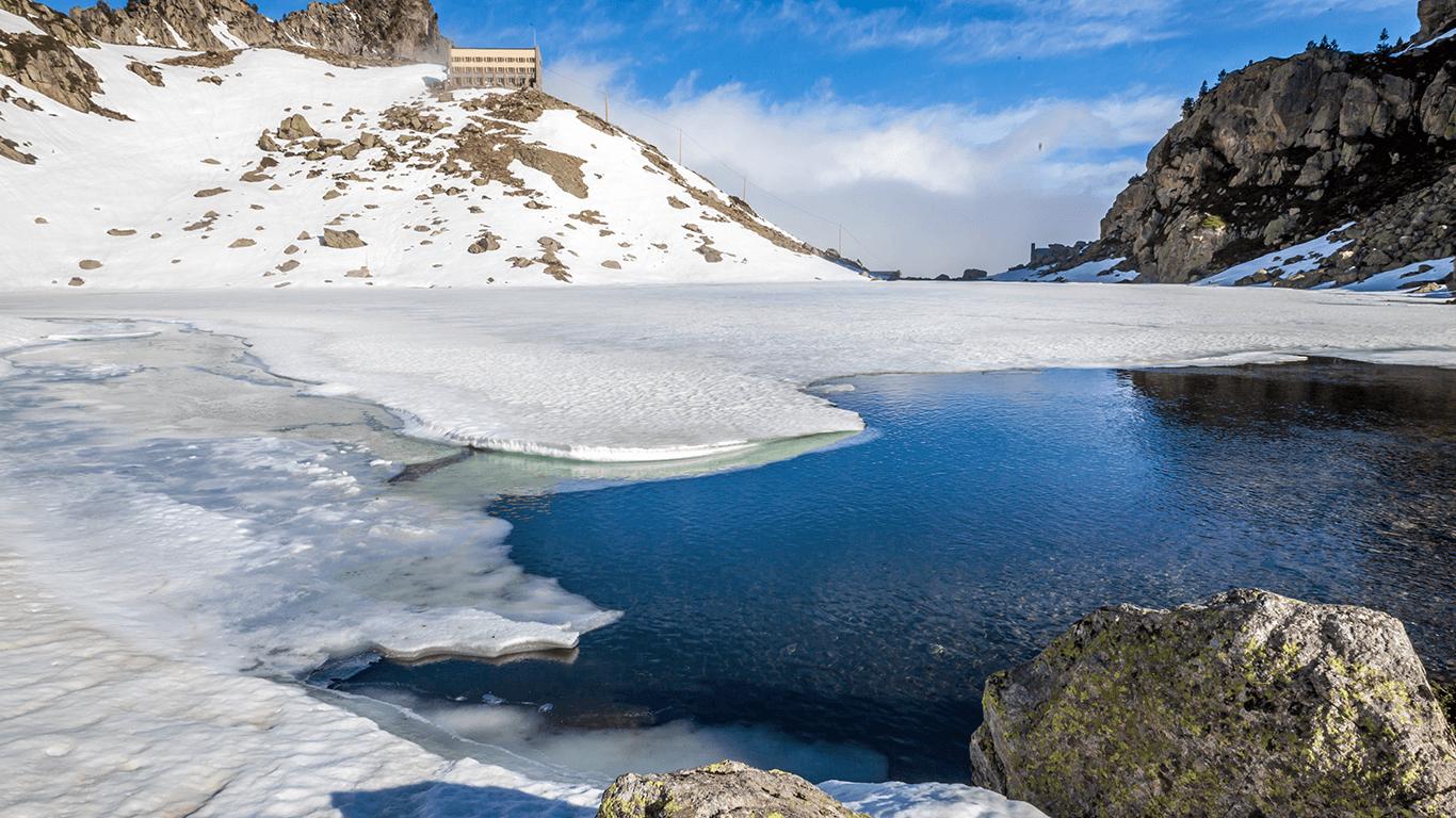 Vallée d'Aure et Louron en hiver