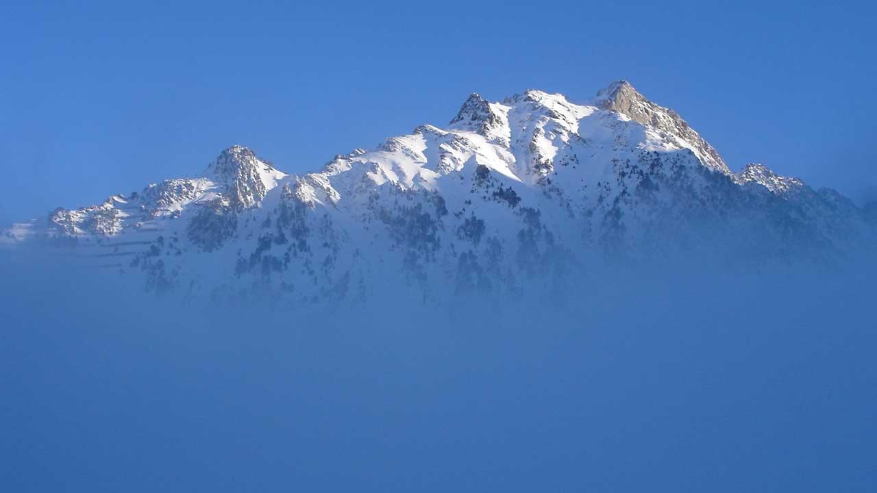 brume et montagne La Mongie