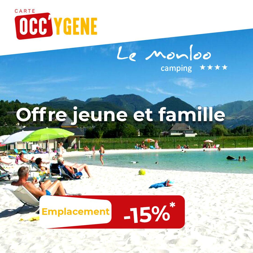 Carte Occy'gène - Camping Monloo