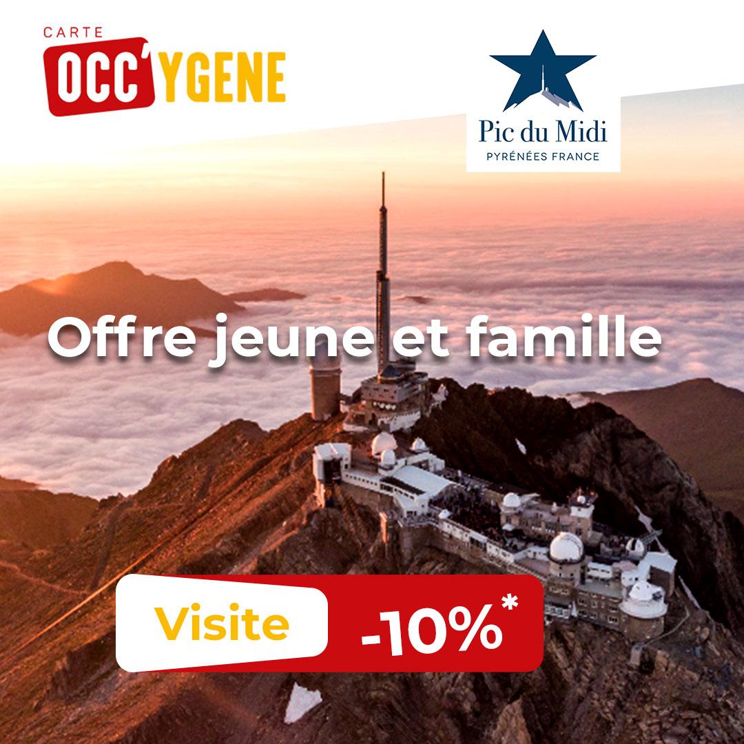 Carte Occy'gène - Pic du Midi