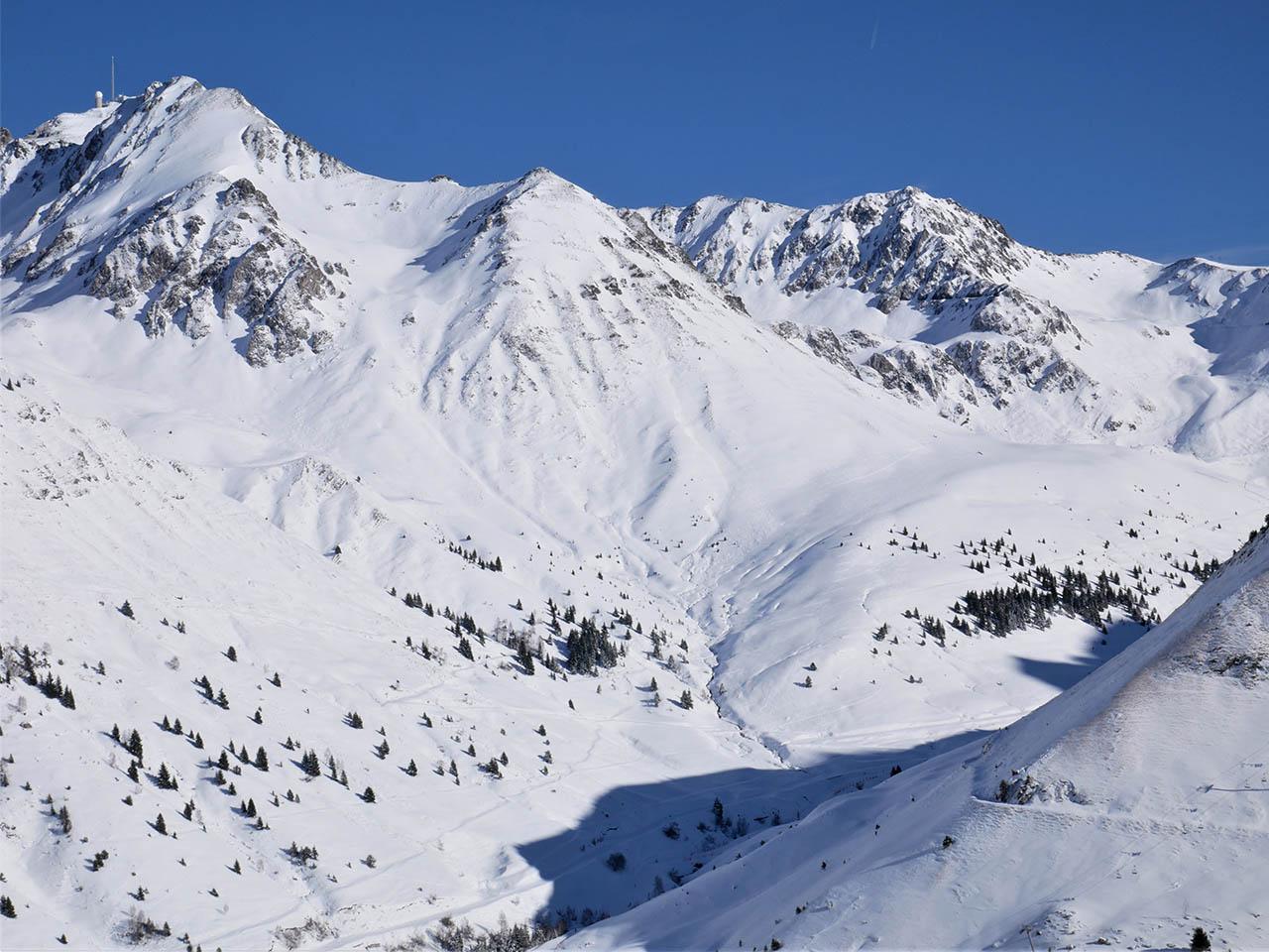 Domaine skiable grand tourmalet