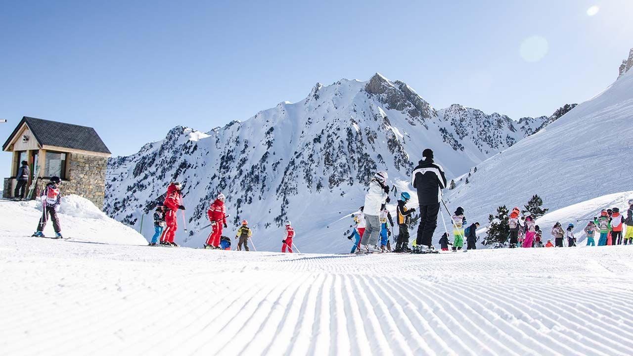 ecole ski séjour mongie