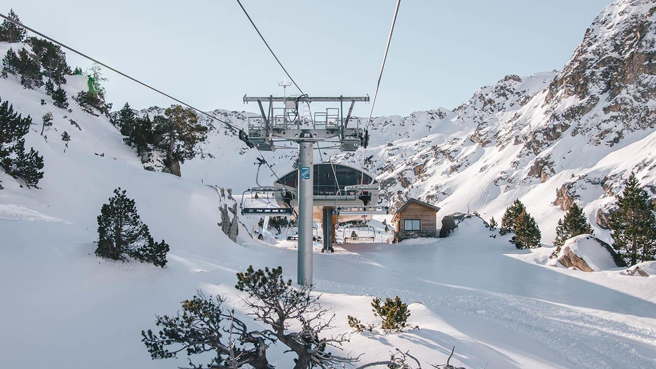 Domaine skiable piste 4 termes