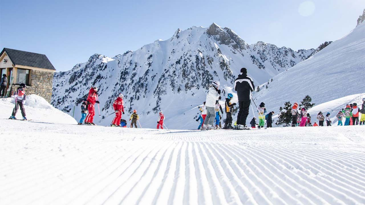 Ski à la mongie