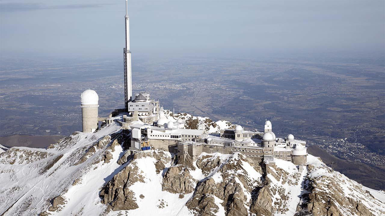 Pic du Midi en hiver