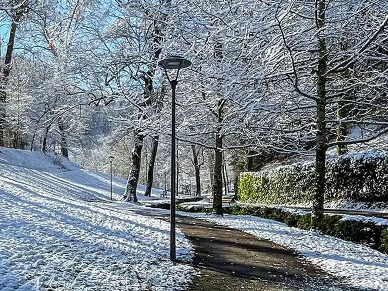 Bagnères de Bigorre en hiver- Vallon du salut