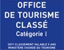 Office de tourisme classé catégorie 1