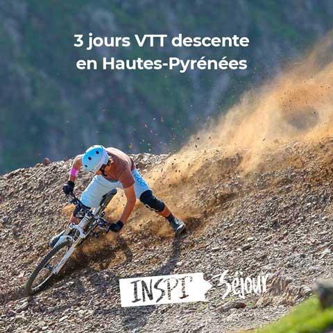 3 jours VTT descente en Hautes Pyrénées