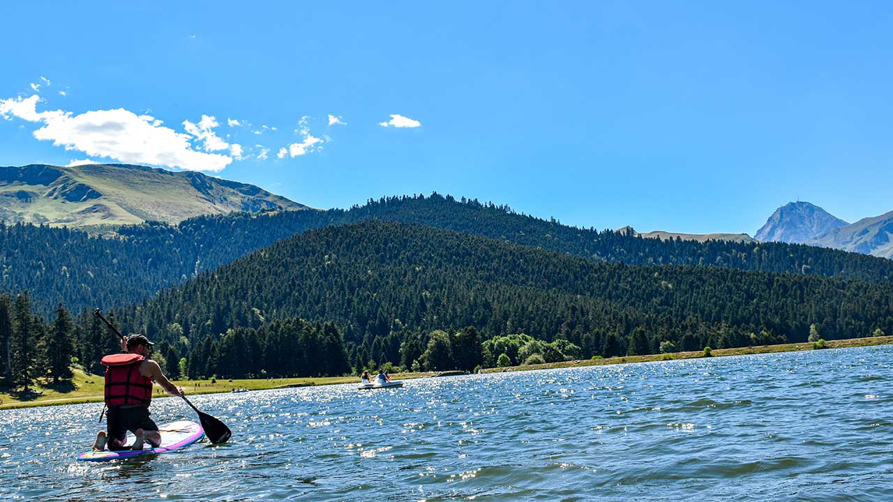 Paddle lac de Payolle