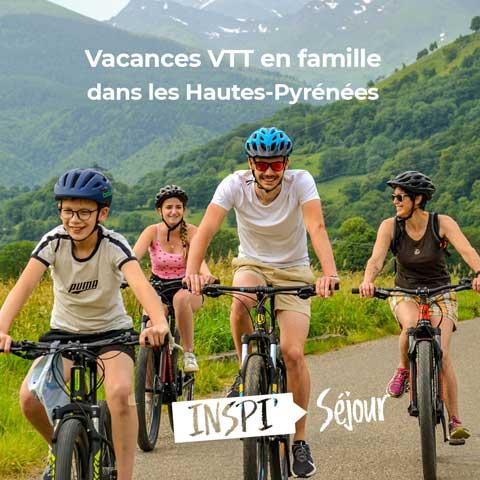Vacances VTT en famille dans les Hautes-Pyrénées